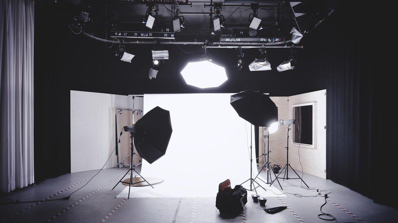 Spotlight in a studio | Wordsmithie Series